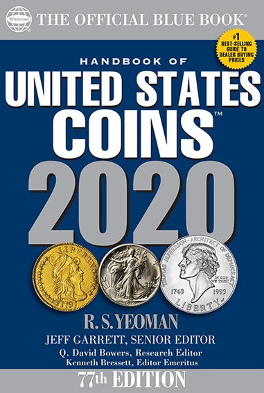 FUTURE RELEASE - 2020 Blue Book, Handbook of US Coins