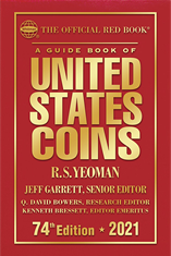 2021 Red Book Price Guide of United States Coins, Hardcover