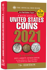 2021 Red Book Price Guide of United States Coins, Hidden Spiral