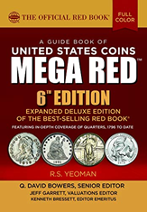 2021 Red Book MEGA, A Guide book of United States Coins Deluxe 6th Edition