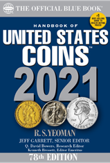 2021 Blue Book, Handbook of US Coins