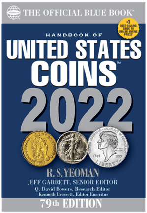 2022 Blue Book, Handbook of US Coins