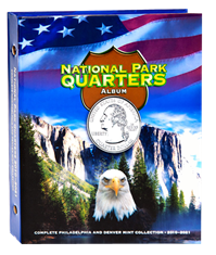 National Park Quarters Full Color Album P&D Mints National Park Quarters Full Color Album P&D Mints Whitman