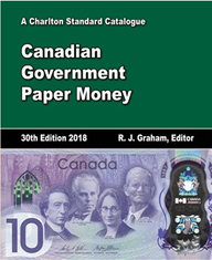 2018 Canada Government Paper Money 30th Edition