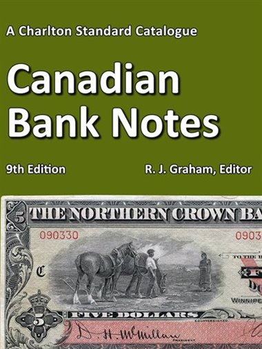 FUTURE RELEASE - Canadian Bank Notes, 9th Edition