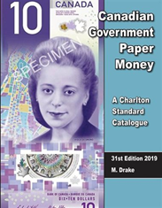 2019 Canada Government Paper Money 31st Edition