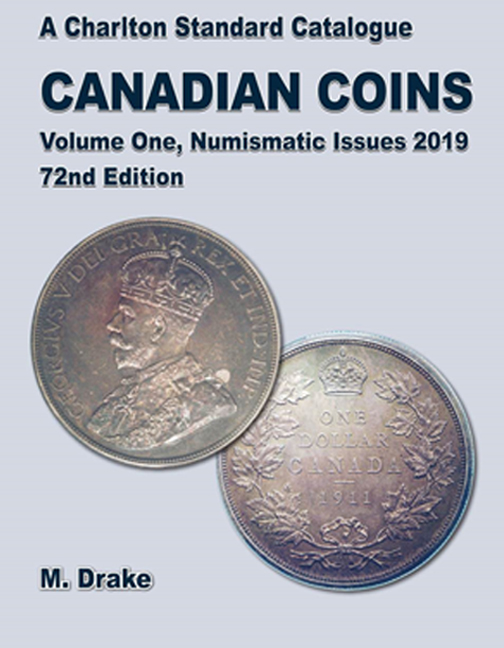 FUTURE RELEASE - 2019 Canadian Coins, Vol 1 Numismatic Issues, 72nd Edition