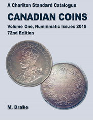 Charlton 2019 Canadian Coins, Vol 1 Numismatic Issues, 72nd Edition