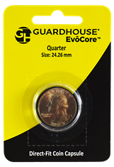Quarter Direct Fit Guardhouse Capsule - Retail Card